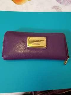 Marc By Marc Jacobs Purple Wallet 長銀包