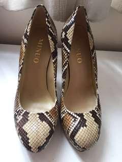 Brand new exotic skin heels