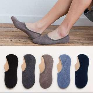 5 x Boat Socks Low Cut Invisible