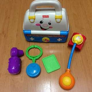 Fisher-Price Medical Doctor Pretend Play Toy Kit