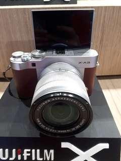 Kamera FujiFilm X-A3 Paling Murah (Kredit 3 Menit Tanpa CC)