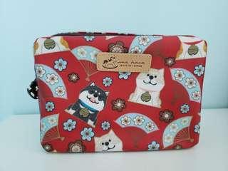 日本印花柴犬防水袋 (包郵)