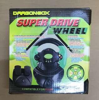 全新xbox super drive wheel軚盤