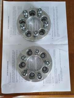 RIM Spacers PCD5×100(25mm ) 1pair