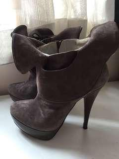 Elegant sexy ankle boots