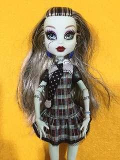 Preloved Monster High Doll - Frankie Stein