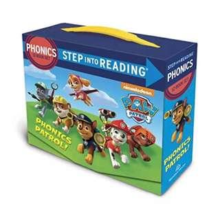 Phonics - Steps into Reading with PAW PATROL