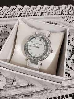 Pierre Cardin White Leather Watch