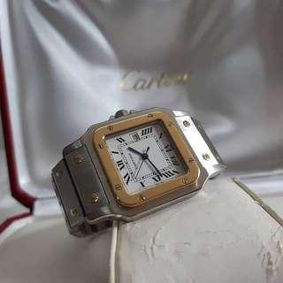 cartier santos mens automatic