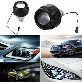 HID Lens Projector Lens Universal 2.5 Inches 10-30V Headlight Kit Car Light