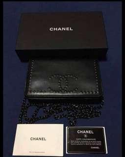 chanel wallet on chain 2017