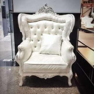 Baroque Victorian Arm Chair