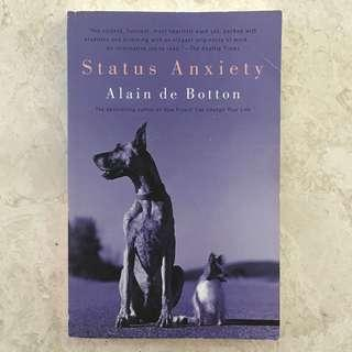Status Anxiety; Alain De Botton