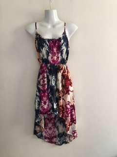 ⚁ 2 for $10 - Cotton On Spaghetti Strap Hi-Low Dress