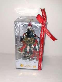 Custom  star wars Christmas tree with music & lights