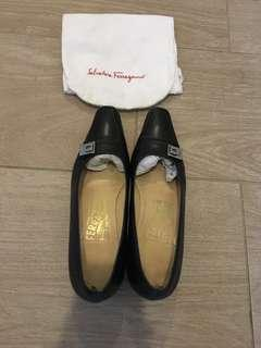 Black Ferragamo Shoes