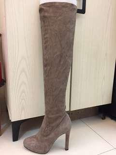 Thigh height boots