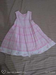 Bambini Plaid Dress