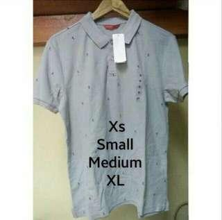 Original Penshoppe Gray Polo Shirt Size S