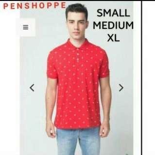 Original Penshoppe Red Polo Shirt XS