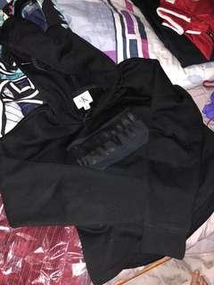 Calvin Klein hoodie in triple black