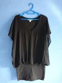 Mini dress #prelovedwithlove black L
