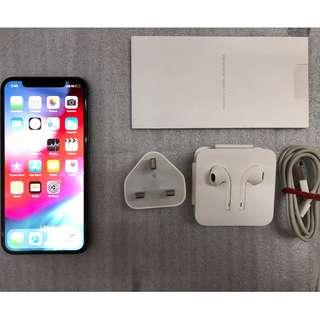 Apple iPhone X Space Grey 256gb