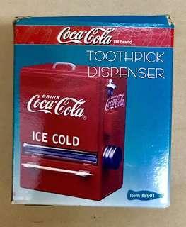 可口可樂牙簽盒