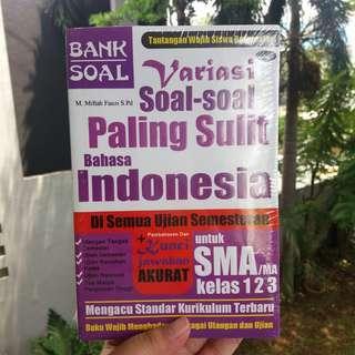 Buku Bank Soal Bahasa Indonesia SMA