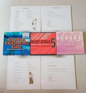 3 x Original English Albums CD