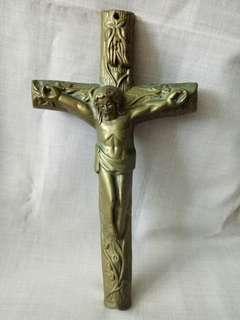 🚚 銅製天主教十字架