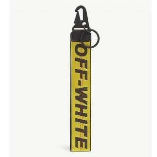 Off White Industrial Belt Key Chain