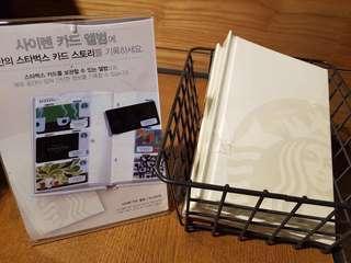 Starbucks Album for cards or instax mini photos