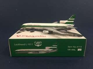 1/400 Cathay Pacific L-1011 Tristar Model NT Phoenix Germini