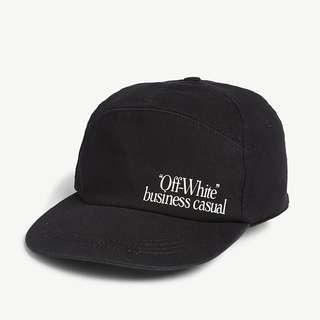 Off White Business Casual Snapback