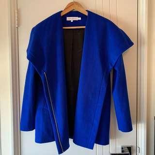 Finders Keepers Cobalt Blue Jacket BNWT