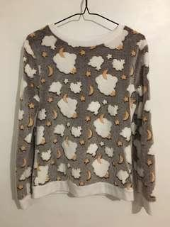 Soft moon/stars sweater