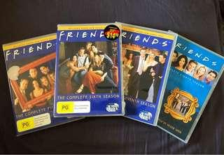 FRIENDS TV SERIES DVDS