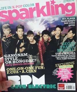 Sparkling Magazine 2PM/Park Shin Hye Cover
