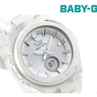 Casio Baby-G G-MS series GSteel Couple Ladies Fashion Watch Tough Solar MSG-S200-7A MSGS200 MSG-S200