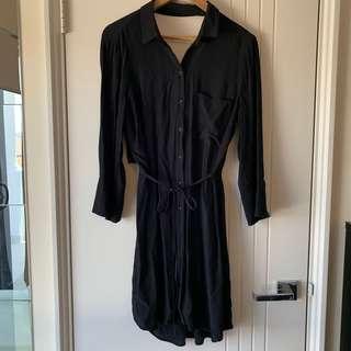 Topshop Black Blouse/ Dress NEW