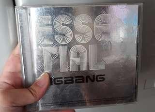 ESSENTIAL BIGBANG CD DVD