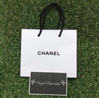 BN Chanel Authentic Paperbag Carrier. Small.