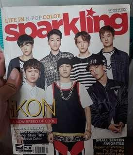 Sparkling Magazine iKON/Bigbang Cover