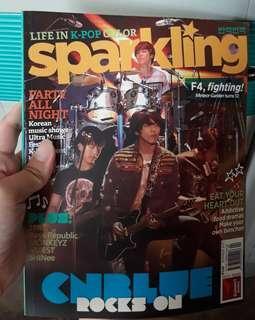 Sparkling Magazine CNBLUE/JYJ COVER