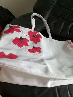 Clarins carrier bag