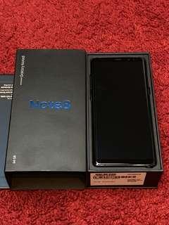 SAMSUNG Galaxy Note8 64GB Deepsea Blue