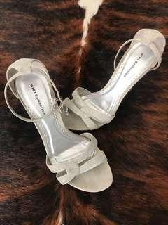 Silver Party Stiletto