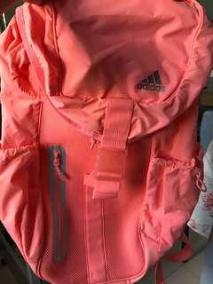 Adidas Backpack in Coral colour