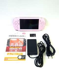 SONY PLAYSTATION PORTABLE  -  PSP3000 BLOSSOM PINK